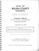 Title Page, Wilkin County 1968